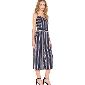 1. State x Revolve Striped Wide Cropped Jumpsuit